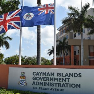 Cayman Government Flags Lowered for Manchester